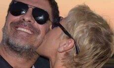 Xuxa para Junno Andrade: ''Quero ser tua velha pra sempre''. Foto: reprodução Instagram