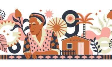Google celebra o 96º aniversário de Dona Militana, a maior romanceira do Brasil. Foto: Divulgação Google