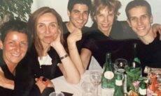 """Marília Gabriela posta clique antigo com Reynaldo Gianecchini: """"Romance já rolava"""""""