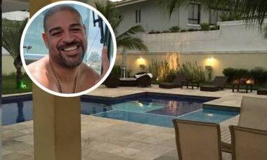 Adriano Imperador vende mansão e passa a viver em hotel de luxo no Rio