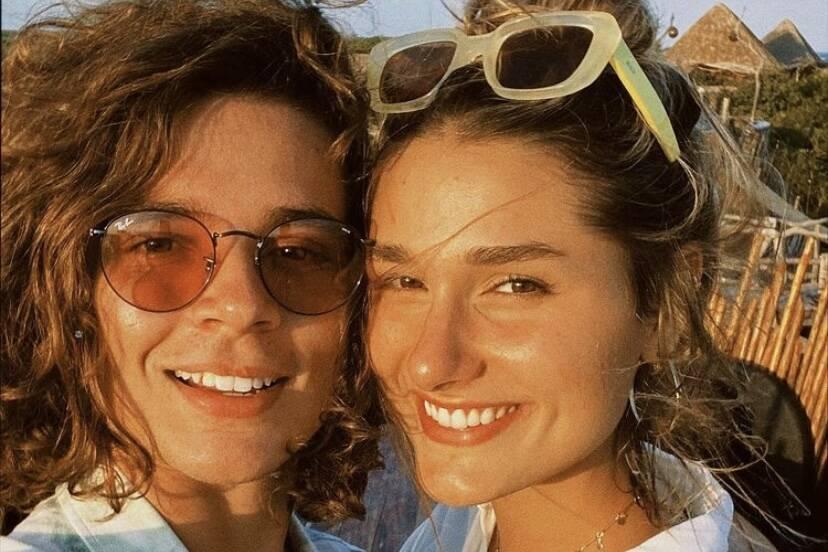 """João Figueiredo sobre Sasha Meneghel: """"Incrível em todo os aspectos"""""""