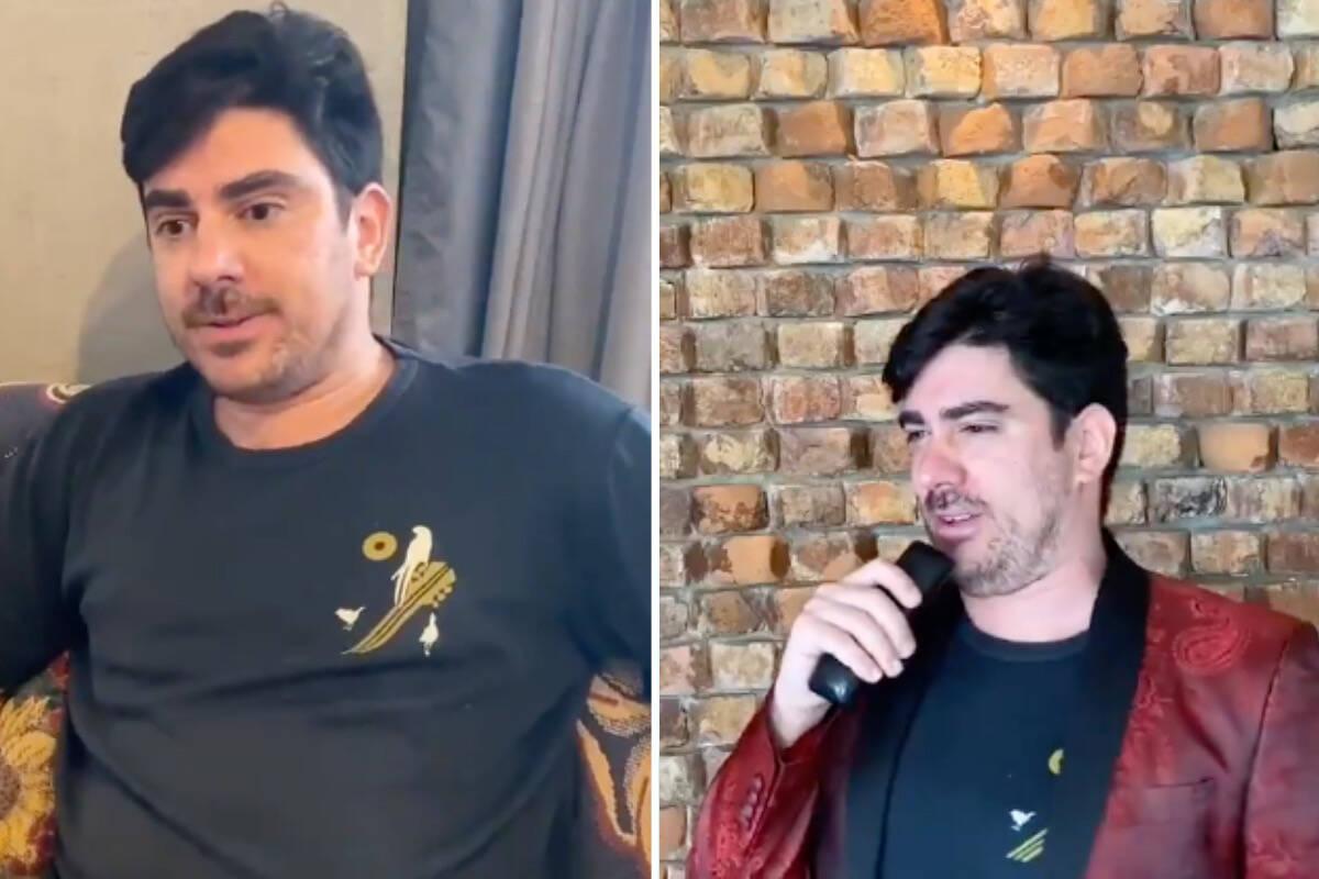 Marcelo Adnet diverte a web com imitações de Moro, Lula e Bolsonaro