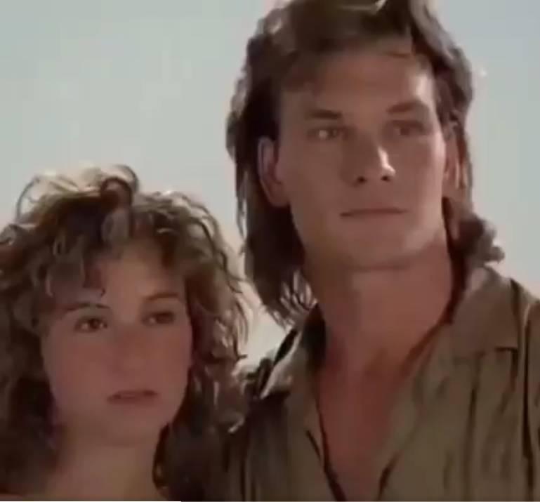 Vídeo inédito mostra Patrick Swayze e Jennifer Grey ensaiando para 'Dirty Dancing' (Foto: Reprodução/YouTube/Twitter)