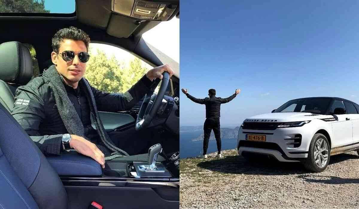 Cauã Reymond posa com carro de luxo de meio milhão de reais na Grécia