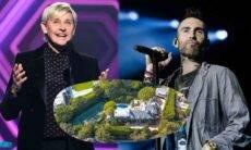 Ellen DeGeneres coloca mansão comprada de Adam Levine à venda por cerca de R$ 300 milhões