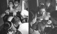 Lorena Carvalho sobre parto do filho com Lucas Lucco: 'faria tudo de novo'