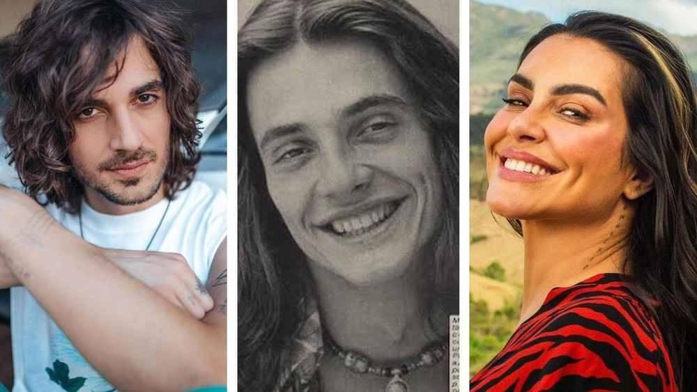 Fábio Junior posta foto antiga e fãs apontam semelhança com Cleo e Fiuk (Foto: Reprodução/Instagram)