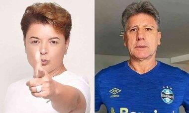 David Brazil posta clique de 25 anos atrás sendo depilado por Renato Gaúcho