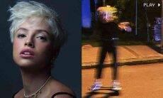 De visual novo, Agatha Moreira exibe habilidades com waveboard