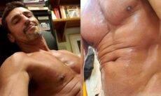 """Tuca Andrade posta foto ousada e rebate críticas: """"não gosta? não segue"""""""
