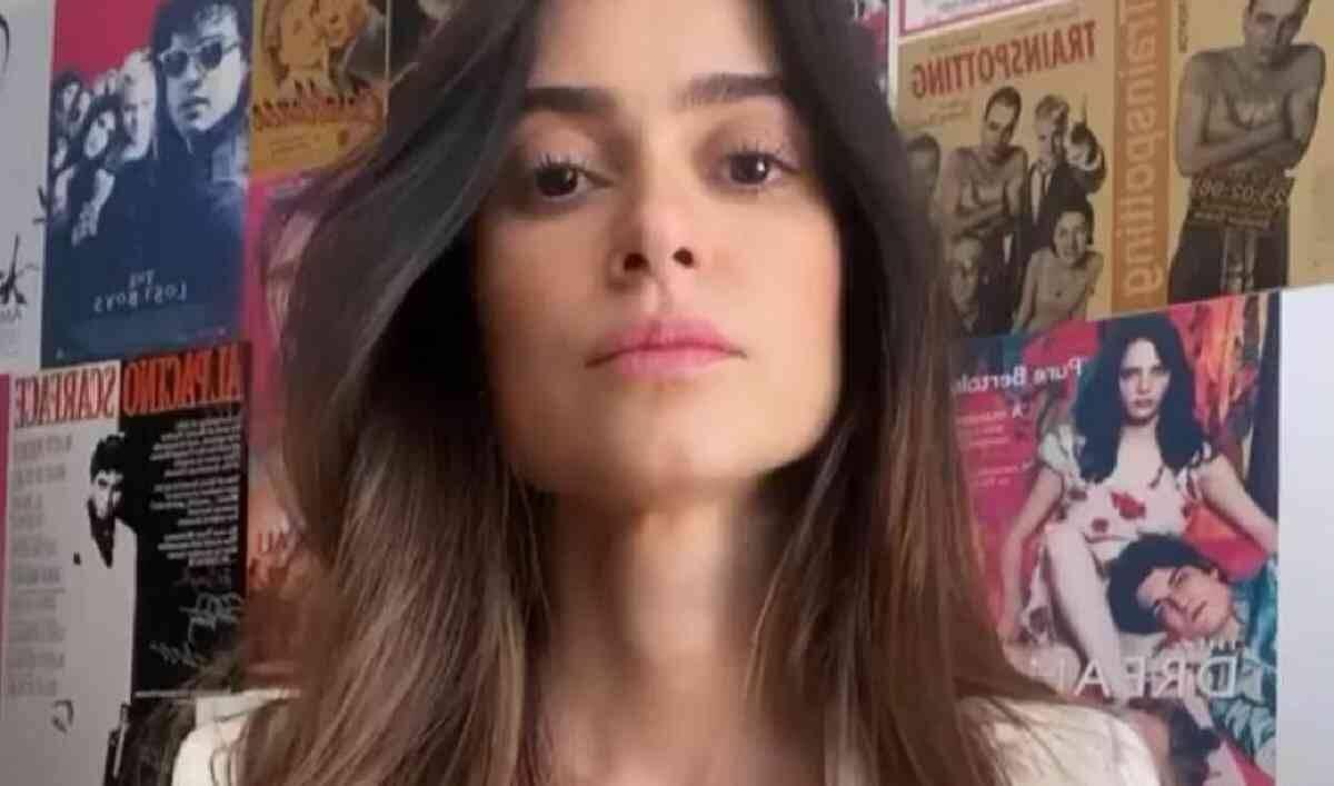 Thaila Ayala diverte os fãs com vídeo sobre os perrengues do 'home office'