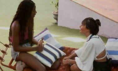 BBB 21: Camilla fala com Thaís sobre se sentir excluída pela sister: 'fiquei sentida'
