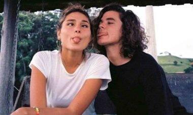 João Figueiredo posta clique fazendo careta com noiva Sasha Meneghel
