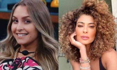 Juliana Paes dá dica de vingança para Carla Diaz após Paredão Falso