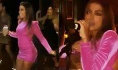 Anitta celebra aniversário em Miami com vestido de mais de R$ 26 mil