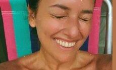 """Filha da Fafá de Belém posa ansiosa para aniversário: """"2 dias pros 41 anos"""""""