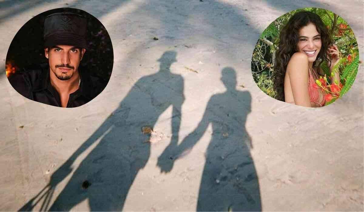 Bruna Marquezine posta foto de mãos dadas com Enzo Celulari