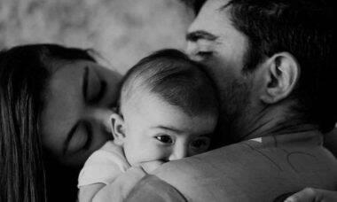 Esposa de Marcelo Adnet posta foto com família: 'só sei agradecer'