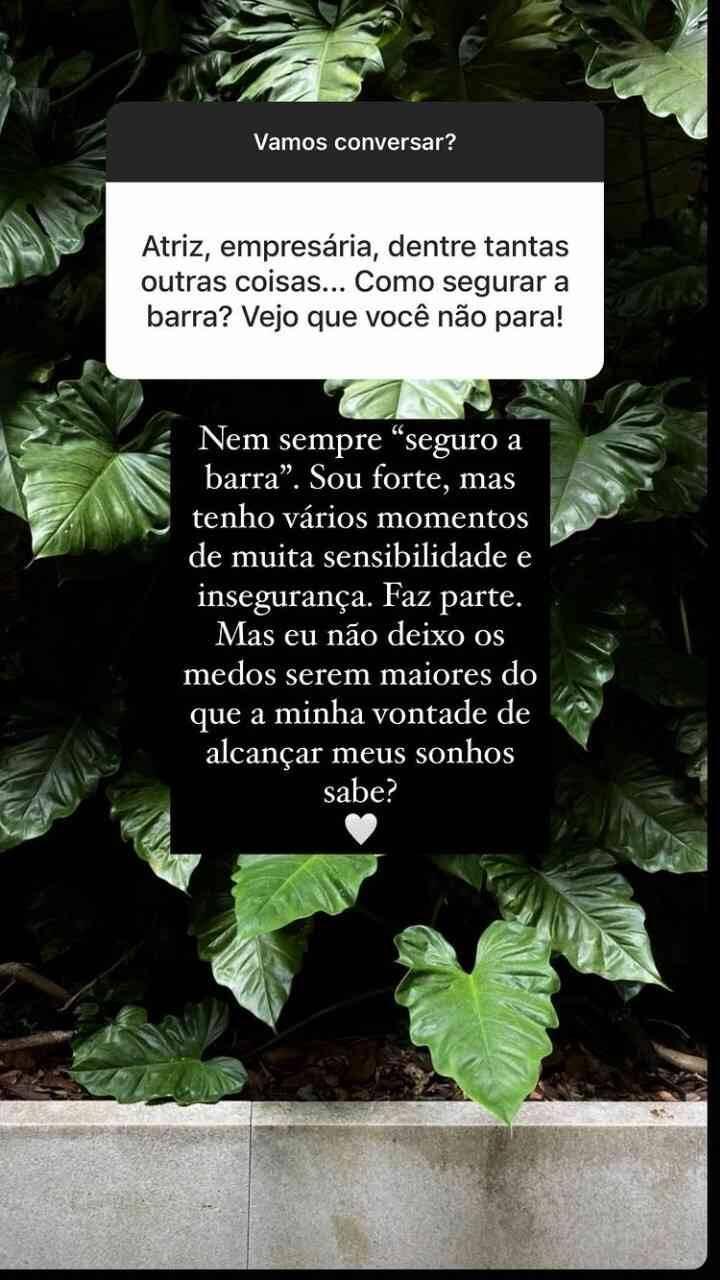 """Marina Ruy Barbosa revela desejo em ter filhos: """"ter minha família"""" (Foto: Reprodução/Globo)"""