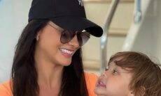 """Andressa Suita se derrete pelo filho: """"Minha riqueza"""""""