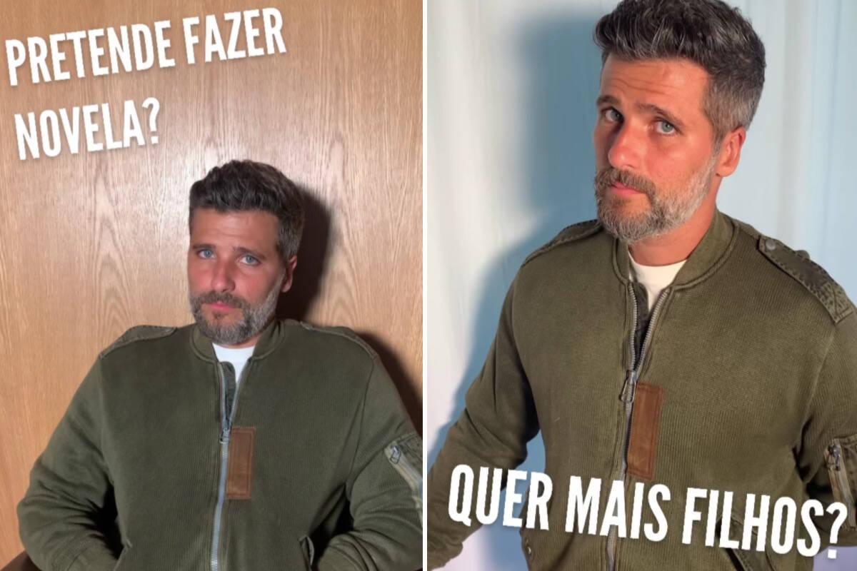Bruno Gagliasso revela que quer mais filhos e não pretende voltar a fazer novela