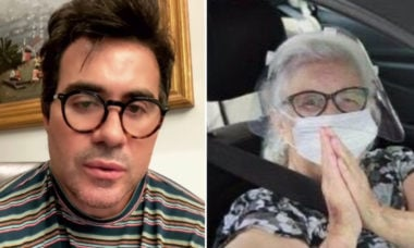 Mãe de Padre Fábio de Melo é intubada após diagnóstico de Covid-19