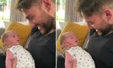 Lucas Lucco aquece o coração dos fãs em vídeo com o filho