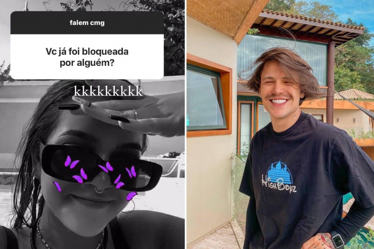 """Mel Maia revela que foi bloqueada por Saulo Poncio: """"Ele ficou bravo"""""""