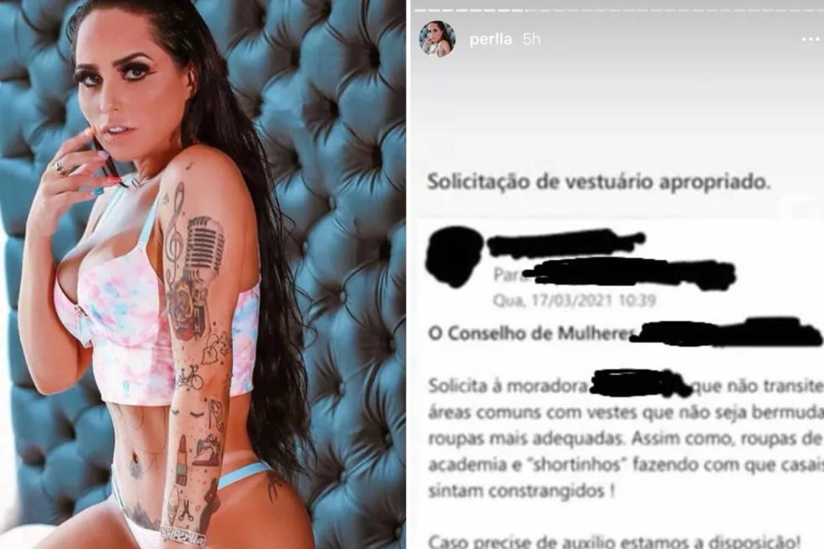 Perlla engana fãs e publica notificação de outra pessoa como se fosse dela