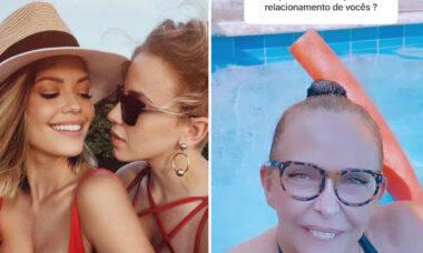 """Vitória Strada se emociona com declaração da mãe de Marcella Rica: """"Não aguento uma sogra dessas"""""""