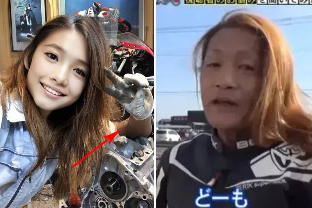 Homem de 50 anos: influencer japonesa é desmascarada em programa de TV