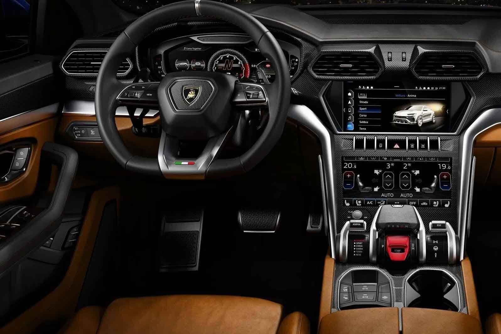 Lamborghini Urus. Foto: Divulgação