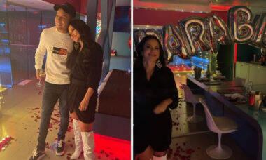 Aniversário: Gabi Martins surpreende Tierry com noite romântica em motel