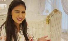 Simone exibe detalhes do quartinho de Zaya: 'cantinho da nossa princesa'