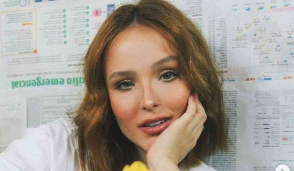 Larissa Manoela vira repórter por um dia do 'Fantástico': 'foi um prazer'