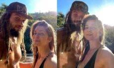 Leticia Spiller se declara para o marido em novos cliques: 'amo um rasta'