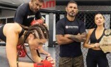 Paula Amorim teve treino intenso com Minotauro para encarar o 'No Limite'v