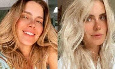 Carolina Dieckmann exibe novo visual e brinca: 'Leona, é você'