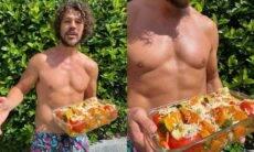 José Loreto exibe prato vegano e adere a campanha 'segunda sem carne'