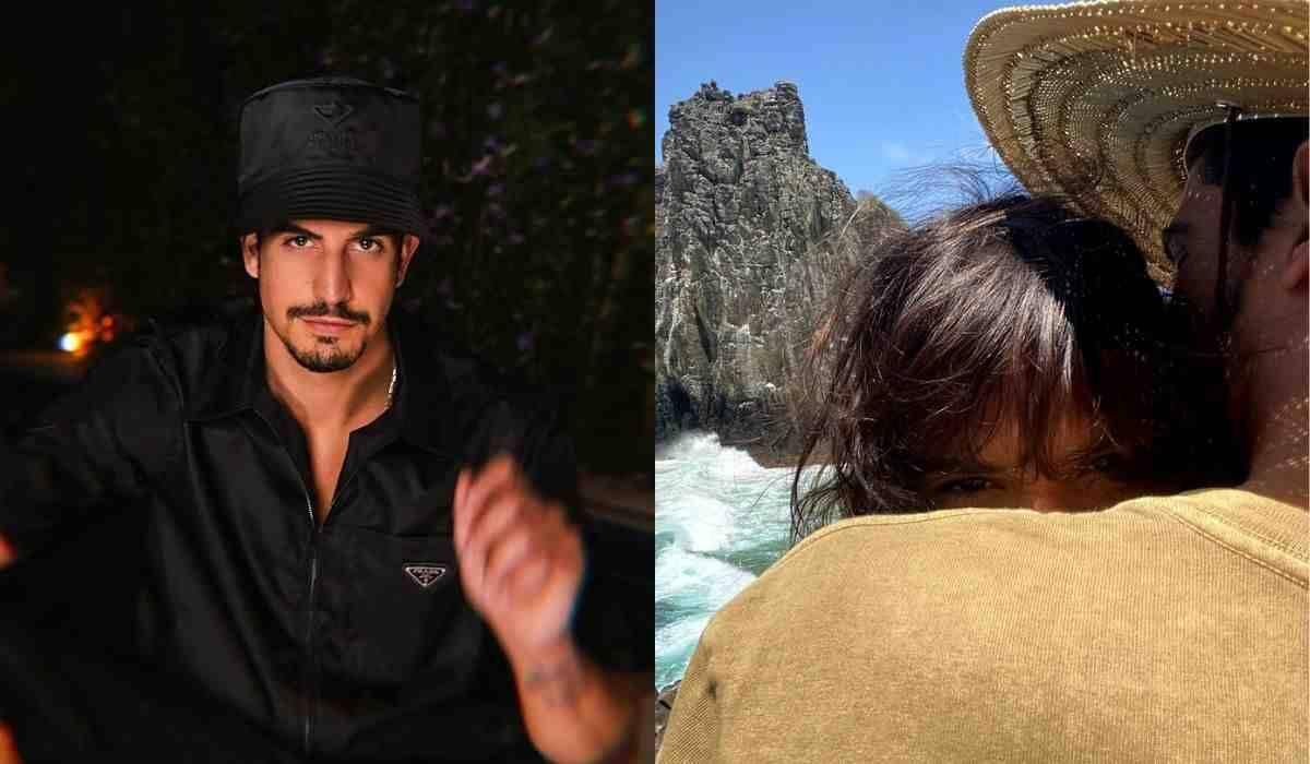 Enzo Celulari posta clique abraçado com Bruna Marquezine