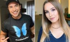 """Escritor despista rumores de affair com Carla Diaz: """"Amigo profissional"""""""