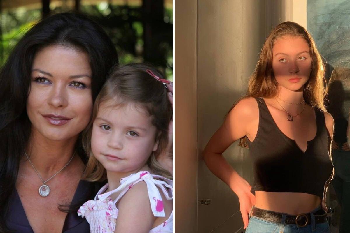 """Catherine Zeta-Jones celebra aniversário da filha: """"Você é tudo"""""""
