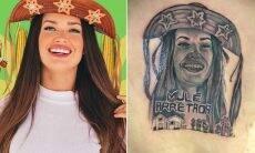 BBB 21: Fã faz tatuagem enorme de Juliette Freire nas costas