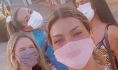 Kelly Key e Suzanna Freitas aproveitam dia de compras em shopping do Rio de Janeiro