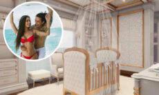 Noiva de Whindersson Nunes mostra projeto para o quarto do filho