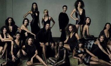 """Naomi Campbell posta clique de ensaio ao lado de Tyra Banks e Iman: """"Celebração"""""""