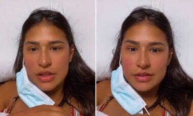 Simone passa por sangramento de 50 dias após parto e procura médico