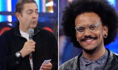 """BBB 21: Faustão apoia denúncia de racismo de João: """"O black power brasileiro vai vencer"""""""