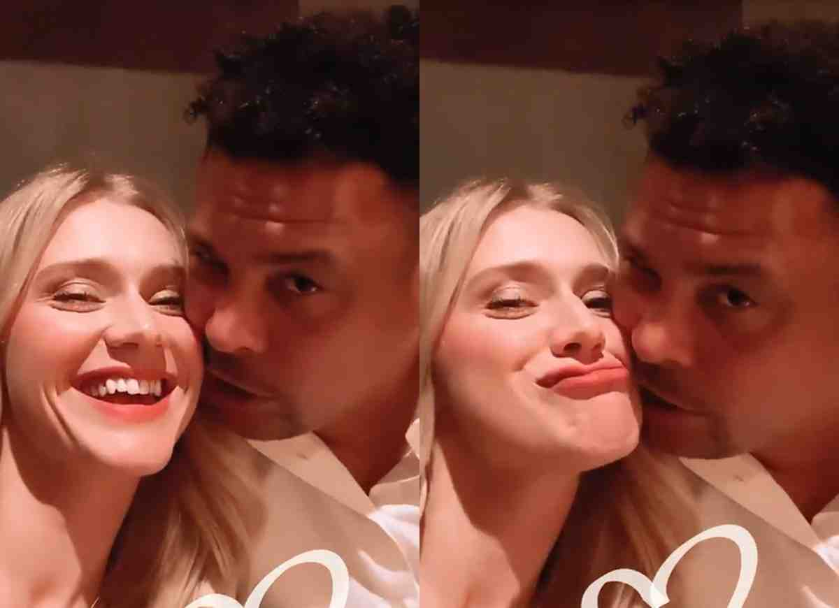 Celina Locks exibe registro romântico ao lado de Ronaldo (Foto: Reprodução/Instagram)