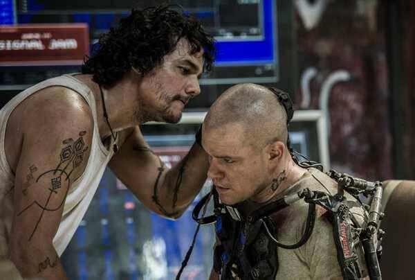 Wagner Moura em 'Elysium' (Foto: Reprodução/Divulgação/Sony Pictures)